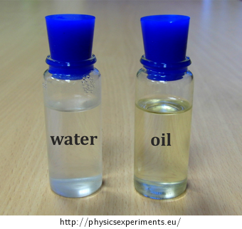 Comparing Specific Heat of Water and Vegetable Oil